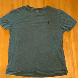 Ralph Lauren Short Sleeve Men's Tee, Green, Med